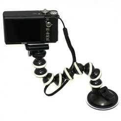 Camera Gorilla Pod With Vacuum Cup - up to 250g load