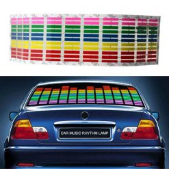 Car Music Rhythm indicator Lamp Sticker
