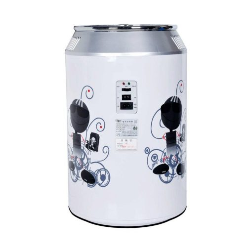 11 Liters Can Shape Mini Fridge  for Home, Office and Car - White