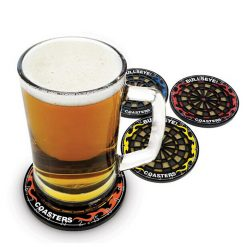 Dart Coaster Set Of 4 - Black
