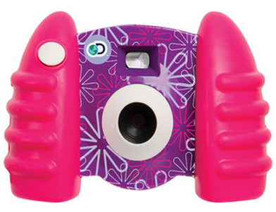 Discovery Kids Digital Camera with Video - Pink Violet