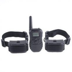 Dog Training Collar With LCD Remote Control For Two 2 Dogs