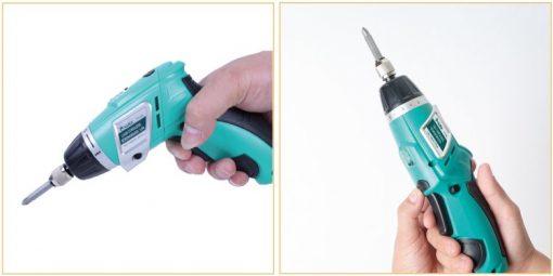 Cordless Screwdriver 3.6V (230V AC 50Hz)