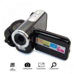 1.5 Inch LCD Cybercam Mini Dv Camcorder 16mp 8x Digital Zoom - Black
