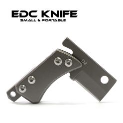 Portable EDC Utility Knife - Silver