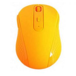 Fruit Series Wireless 1480 DPI Optical Mouse- Orange