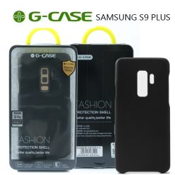 GCase TPU Leather Series Protective Shell Back Cover for Samsung S9 Plus - Black