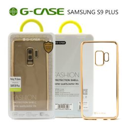 G-Case Plating TPU Series Protective Shell Back Cover for Samsung S9 Plus - Gold