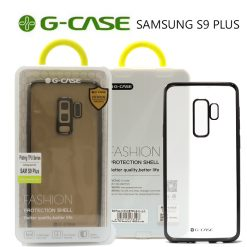 G-Case Plating TPU Series Protective Shell Back Cover for Samsung S9 Plus - Black