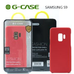 GCase  TPU Leather Series Protective Shell Back Cover for Samsung S9 - Red