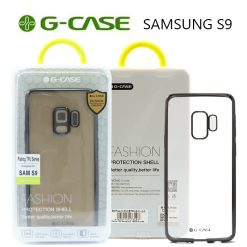 G-Case Plating TPU Series Protective Shell Back Cover for Samsung S9 - Black