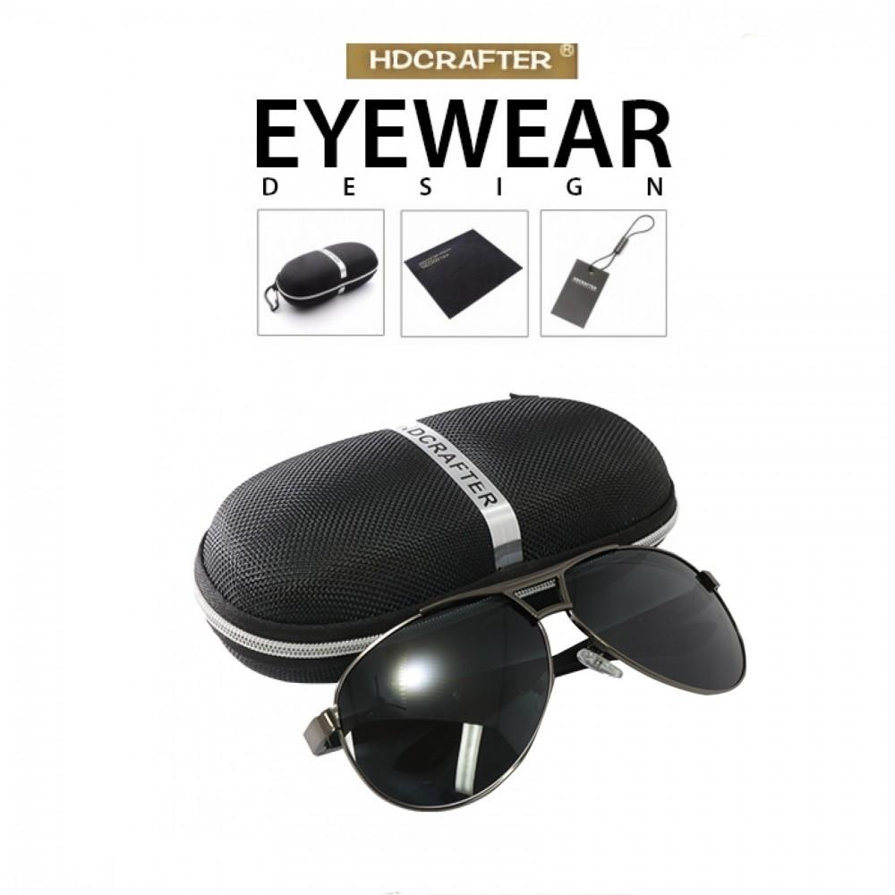 b8c28ef973808 HD Crafter Cool Polarized Sunglasses Men Eyewear - Black - LatestGadget