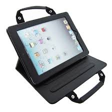 Professional Ipad Leather Case Bag