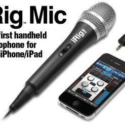 Irig Mic Microphone For Iphone Ipad Itouch