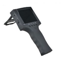 Analog CCTV Security Camera Tester With Monitor - Black