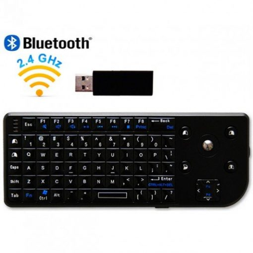 Mini Bluetooth Keyboard With Trackball And Laser Pointer