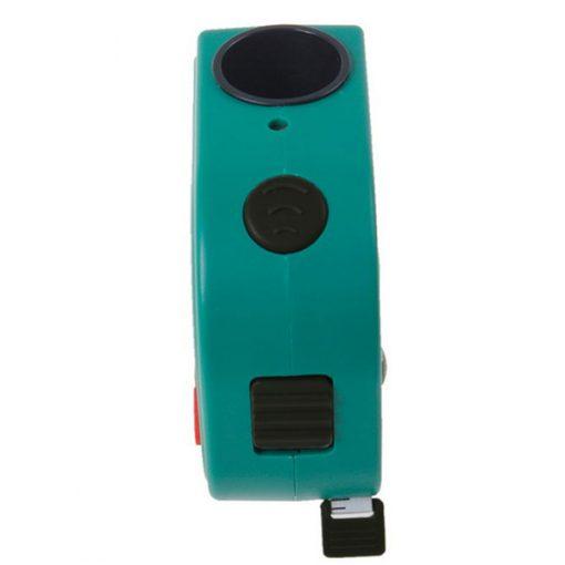 Mini 18 Meters Handheld Ultrasonic Distance Meter With Tape Measure- Green