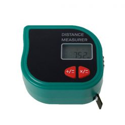 Mini 18 Meters Handheld Ultrasonic Distance Meter With Tape Measure- Green