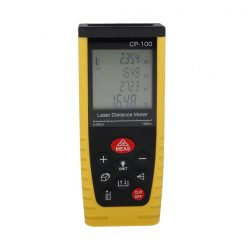100m Digital Laser Distance Meter - Yellow