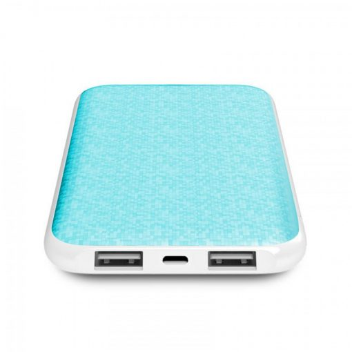 Onda N100T Plus Dual Port 10,000 Mah Powerbank With Lightning And Micro USB Charging Port - Blue