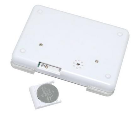 Mini Digital Alarm Clock Medicine Organizer Container 4 In 1 Pill Box