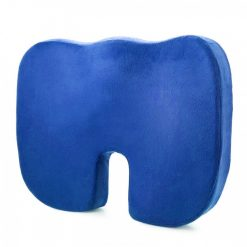 Memory Foam Orthopedic Seat Cushion  - Blue