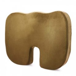 Memory Foam Orthopedic Seat Cushion  - Brown