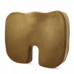 Memory Foam Orthopedic Seat Cushion  - Brown