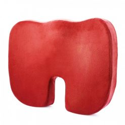 Memory Foam Orthopedic Seat Cushion - Red