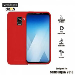 Molan Cano Ultra Lightweight Protective Soft TPU Case for  Samsung Galaxy A7- Red