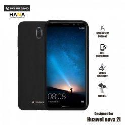 Molan Cano Ultra Lightweight Protective Soft TPU Case for  Huawei Nova 2i - Black