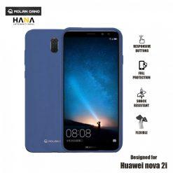 Molan Cano Ultra Lightweight Protective Soft TPU Case for  Huawei Nova 2i - Blue