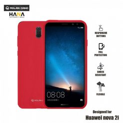 Molan Cano Ultra Lightweight Protective Soft TPU Case for  Huawei Nova 2i - Red