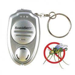Keychain Mosquito Repellant - Silver
