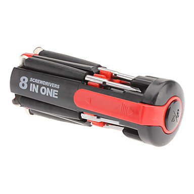 8  in 1 Multi-Screwdriver with Powerful Torch