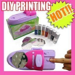 DIY Nail Coloring Machine