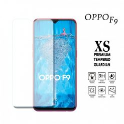 Oppo F9 Tempered Glass - Transparent