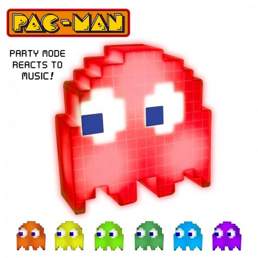 Pacman Color Changing Ghost Light - Red