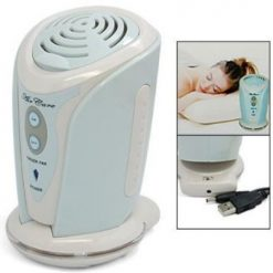 Portable Air Ionizer Fan With Aroma Diffuser