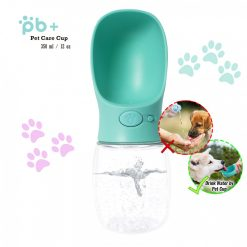 PB+ 350 ml Pet Care Cup Leak Proof Water Bottle For Pets - Blue