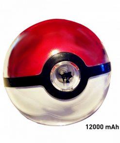 12000 mAh Pokemon Ball Powerbank With LED Projection Light