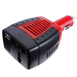 Car Power Inverter DC to AC Converter - Red/Black