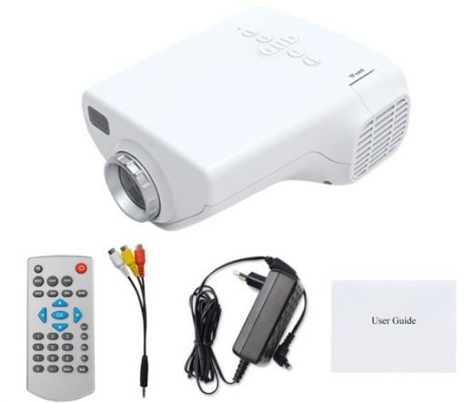 1080P Portable100 Lumens  LED Overhead Projector - White