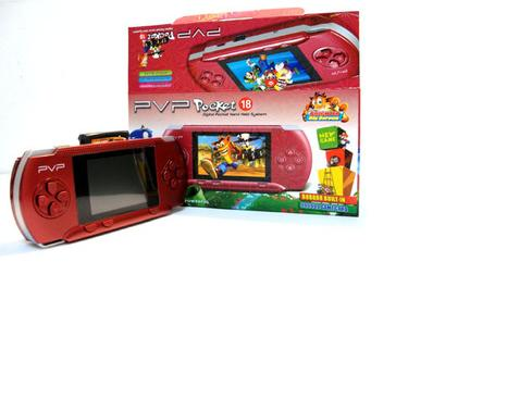 Digital PVP Pocket Hand Held Gaming System - Red