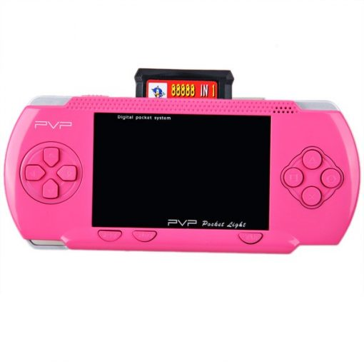 Digital PVP Pocket Hand Held Gaming System - Pink