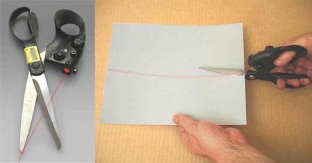 Laser Guided Scissor