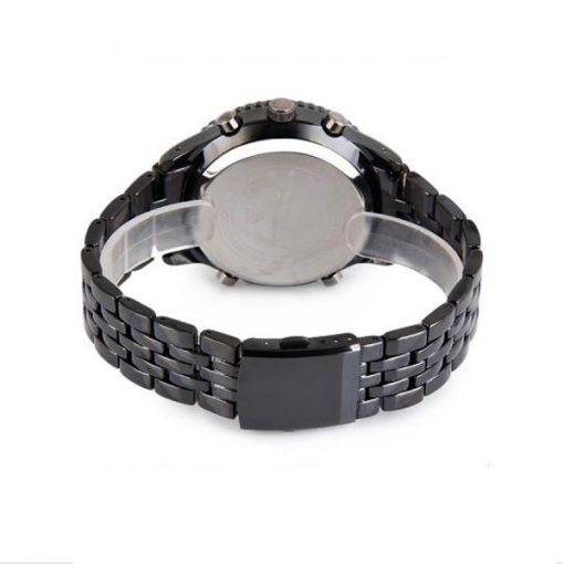 30M Waterproof Dual Mode Metal Watch  - Blue Dial