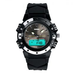 30m Waterproof Digital Wristwatch - Black