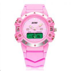 30m Waterproof Digital Wristwatch - Pink