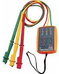 3 Phase Sequence Meter Rotation Indicator Tester